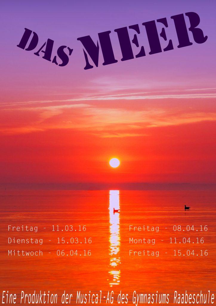 2016 Musical Plakat