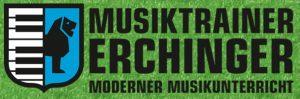 Musiktrainer Logo auf gr�n