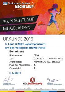 cert-30-braunschweiger-nachtlauf-2016 Urkunde Ben